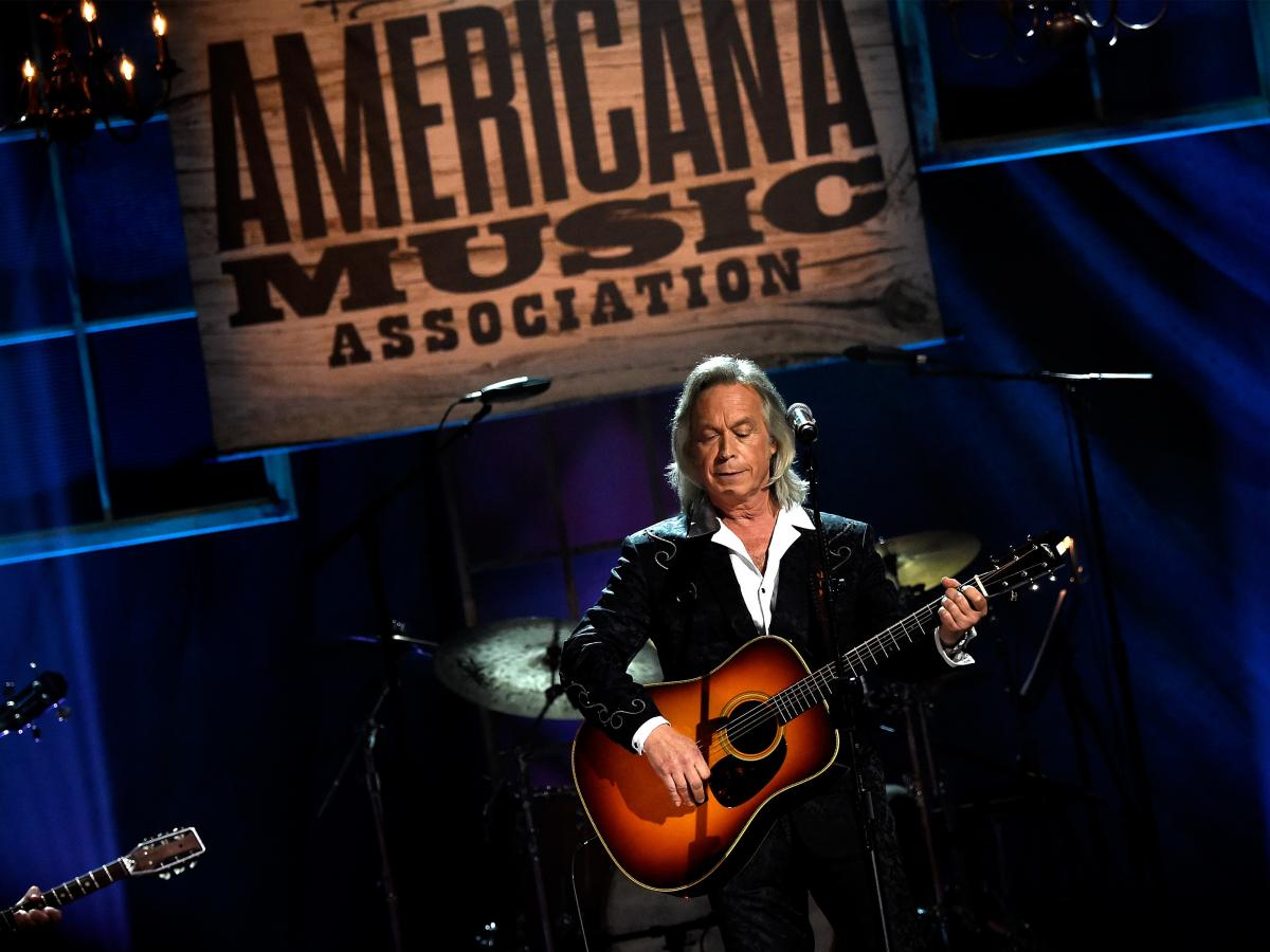 Jim Lauderdale performs onstage at the 14th annual Americana Music Association Honors and Awards Show at the Ryman Auditorium on Sept. 16, 2015 in Nashville, Tenn.