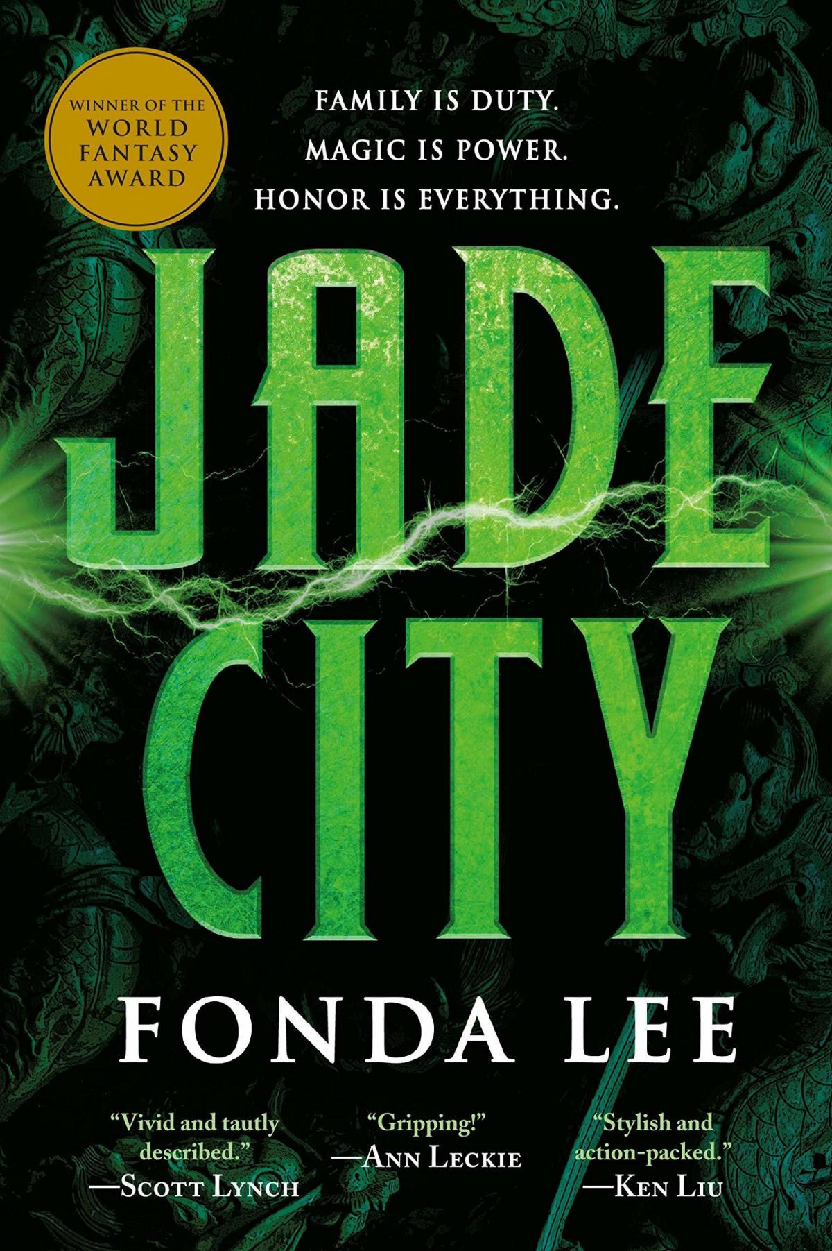 Jade City, by Fonda Lee