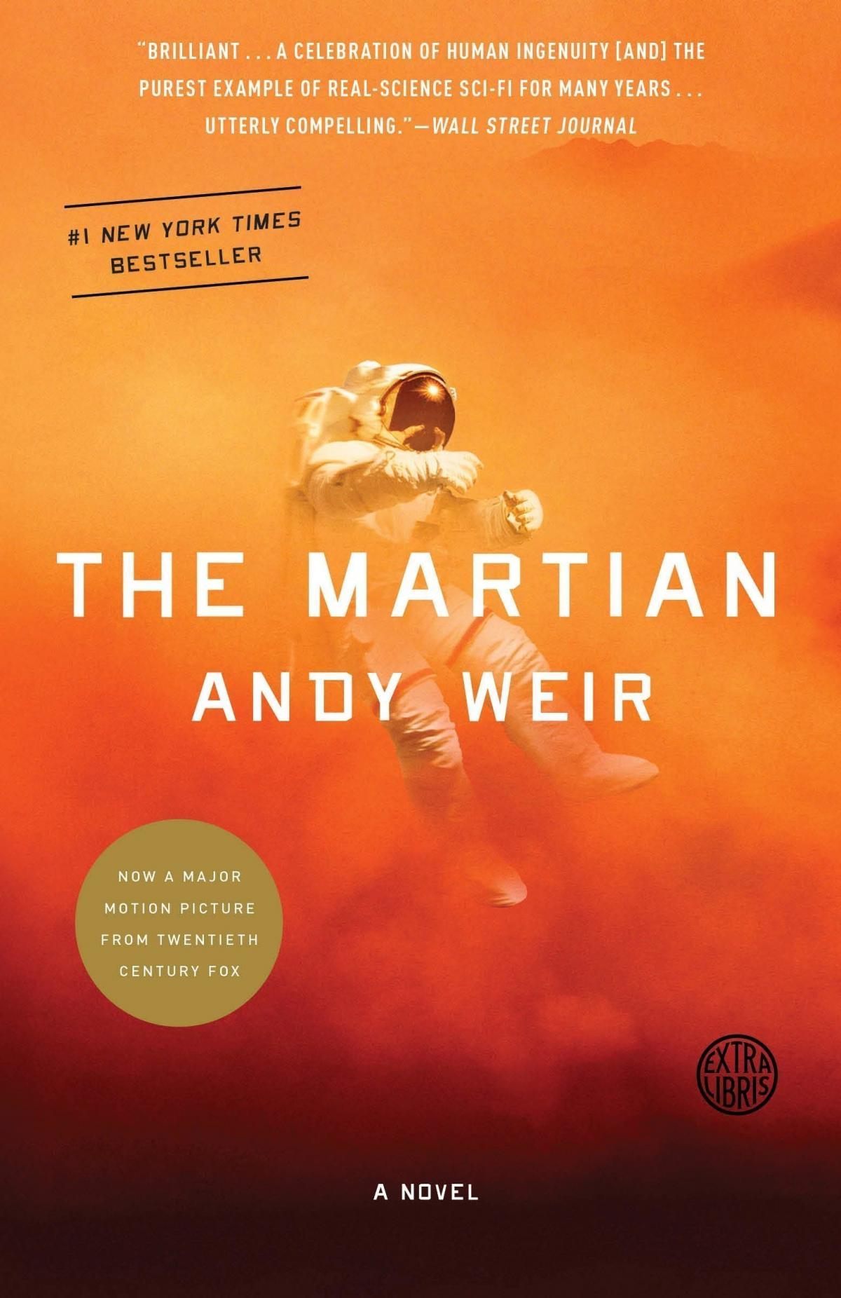 The Martian, by Andy Weir.