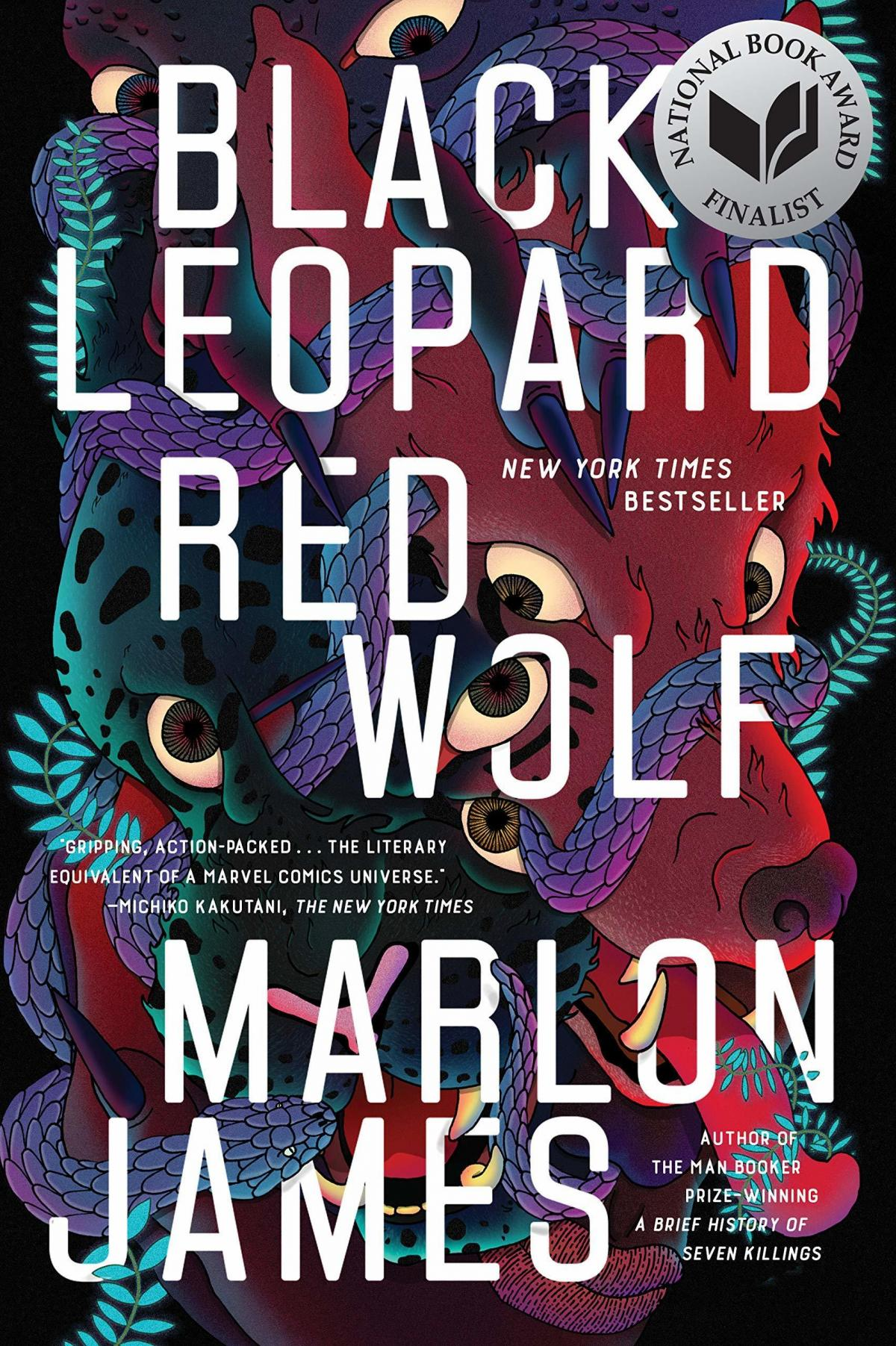 Black Leopard, Red Wolf, by Marlon James