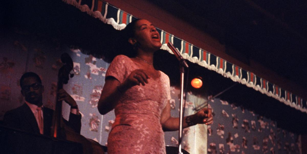 Billie Holiday in 1957.