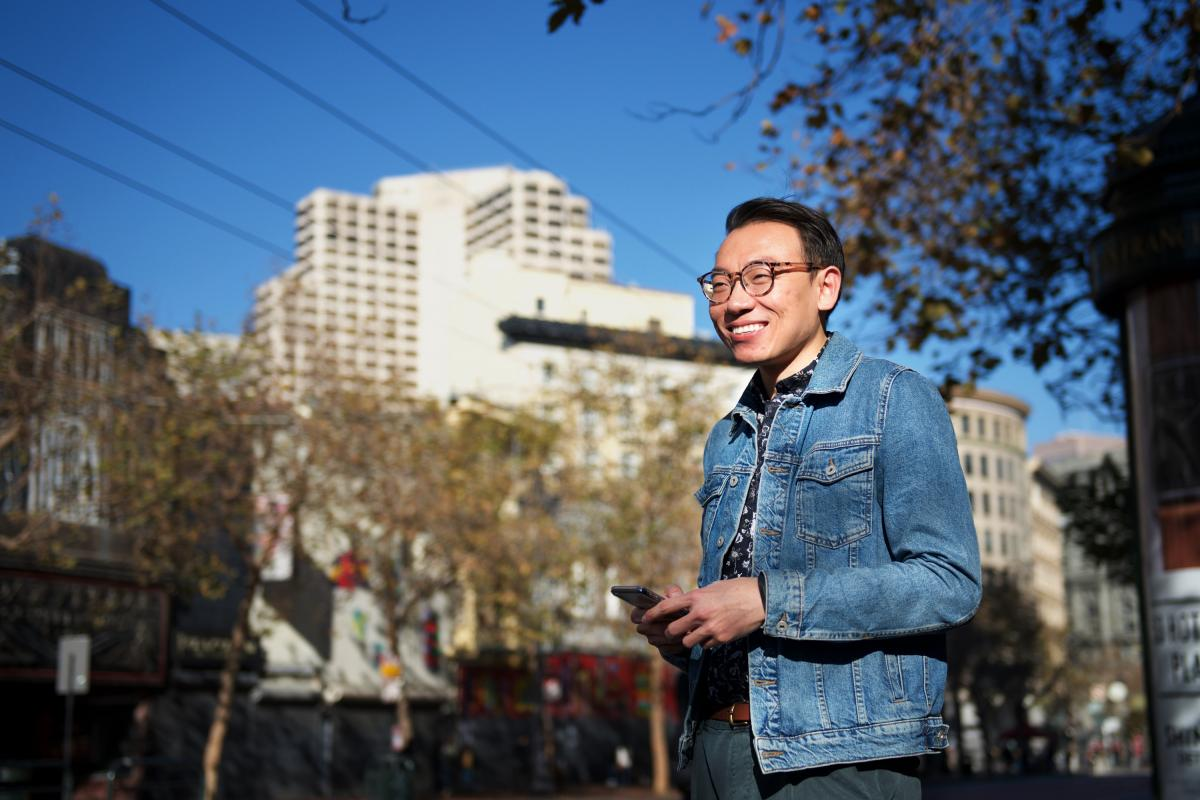 """""""I think technology has created a better, more democratic social environment for especially marginalized groups,"""" says Skyler Wang, a Ph.D. candidate in sociology at the University of California Berkeley."""