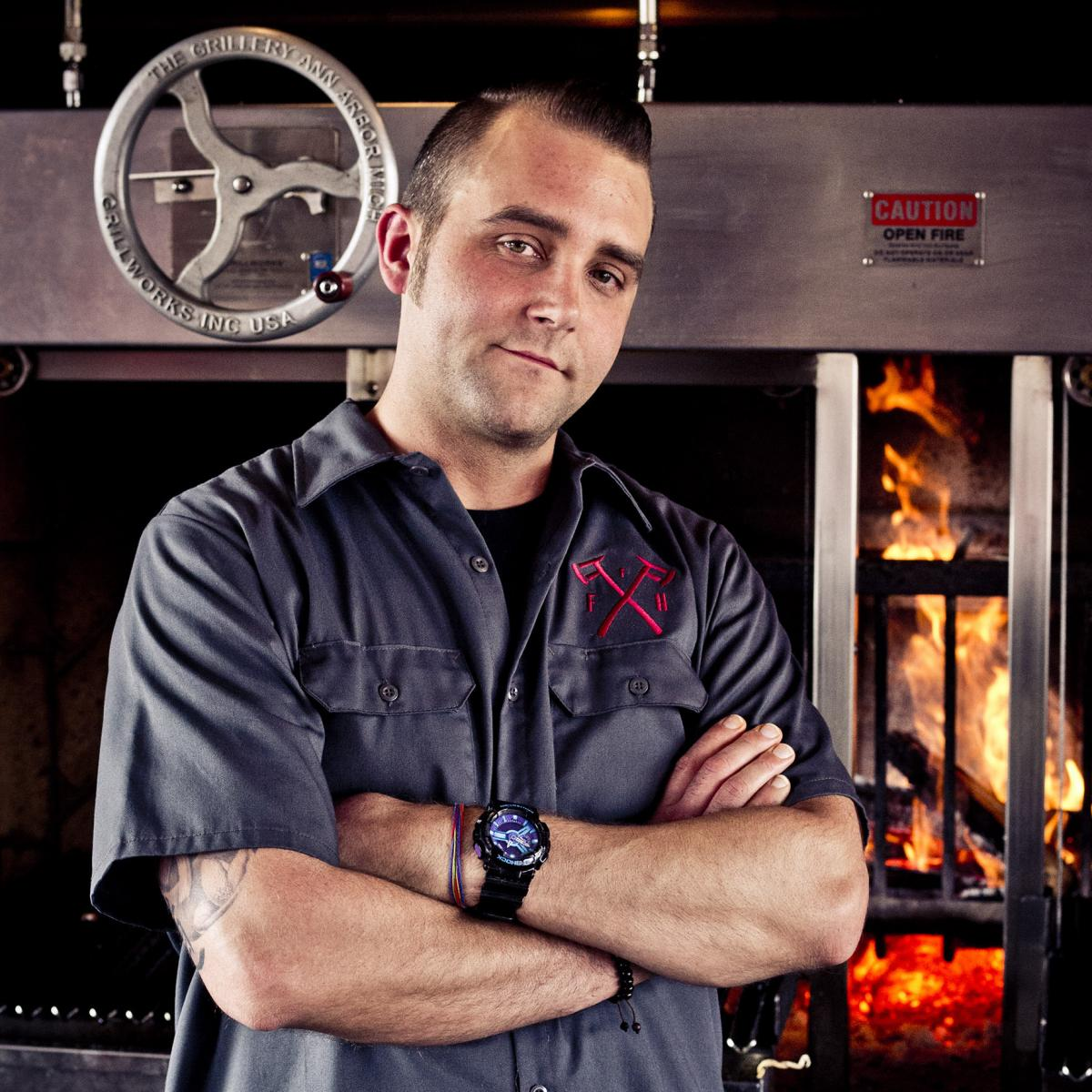 Aaron Cozadd, executive chef for Union Joints restaurant group