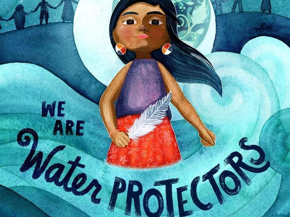 We Are Water Protectors, illustrated by Michaela Goade and written by Carole Lindstrom, won the 2021 Caldecott medal.