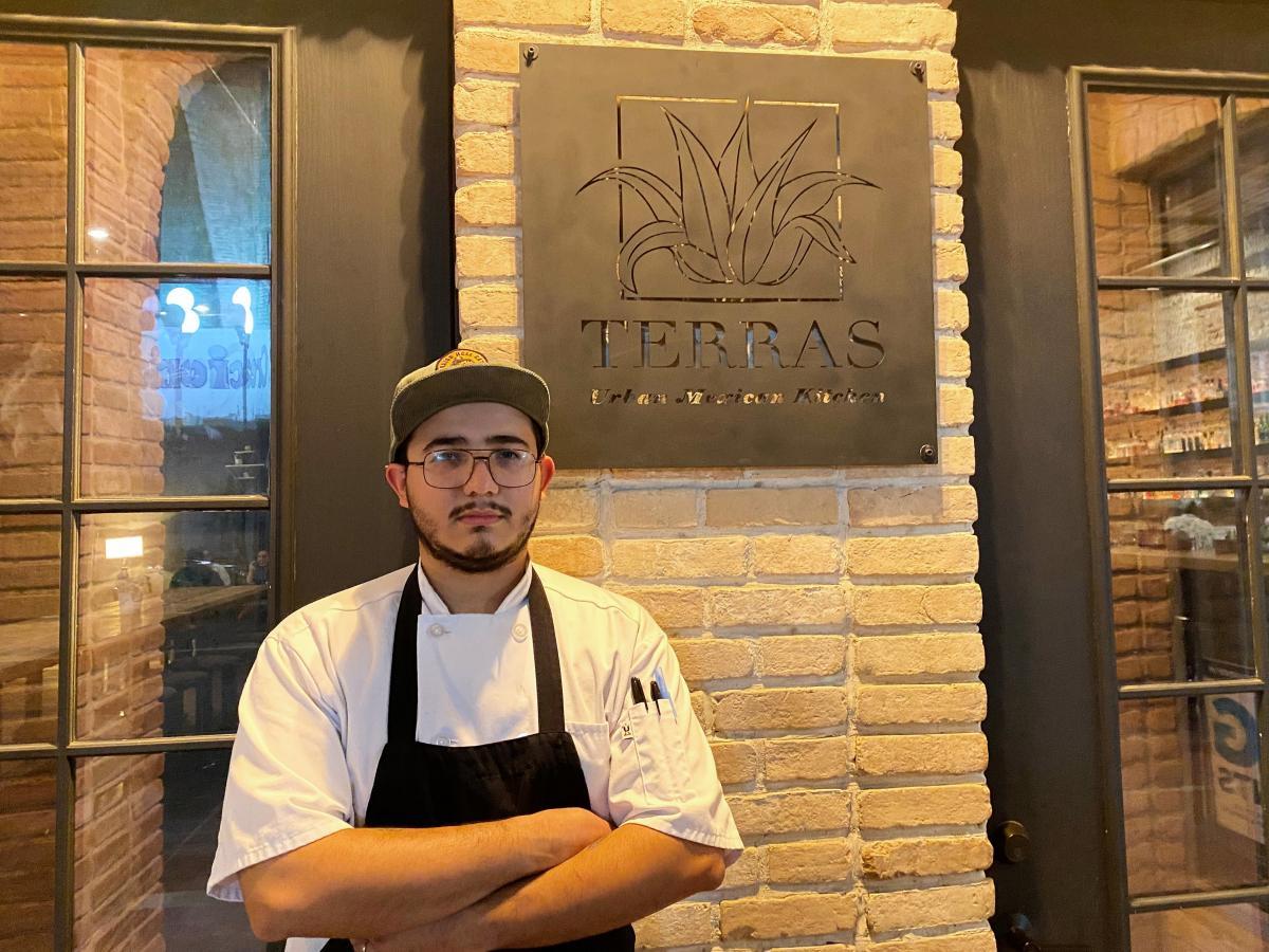 "Terras head chef and co-founder Christian Nevarez says, ""I grew up eating tacos. I love tacos."""