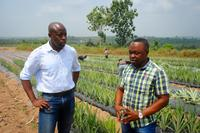 Wharton grad Jerry Parkes (left) is the co-founder of Injaro, a private equity fund that is investing in agriculture in Ghana.