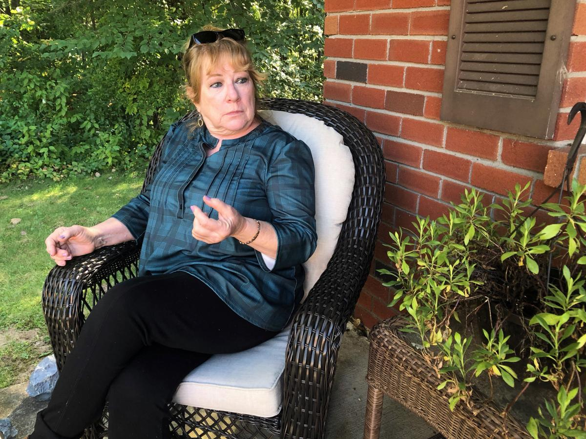 """You know, you get through it. But it does take its toll on your heart and soul,"" says Mary Hartshorne, one of the plaintiffs in a lawsuit over the failed St. Clare's Hospital pension plan."