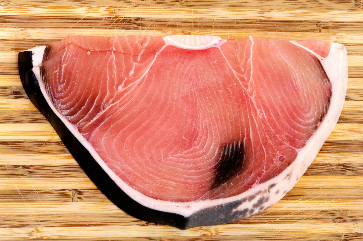 A shark steak. Despite bans on shark fin, the trade in shark meat is going strong.