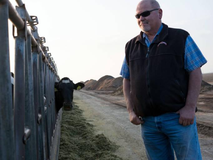 Diary farmer Tom Barcellos says he thinks Trump's business-friendly side will help keep California's economy strong.