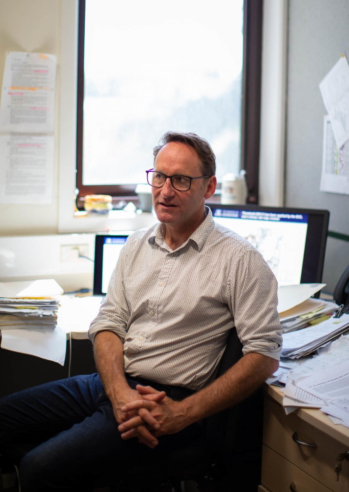 Soil scientist Gary Sheridan has been studying how slope steepness, fire severity and soil type can all influence whether a debris flow might happen. He argues that mudslides are not freak events but can be better predicted.