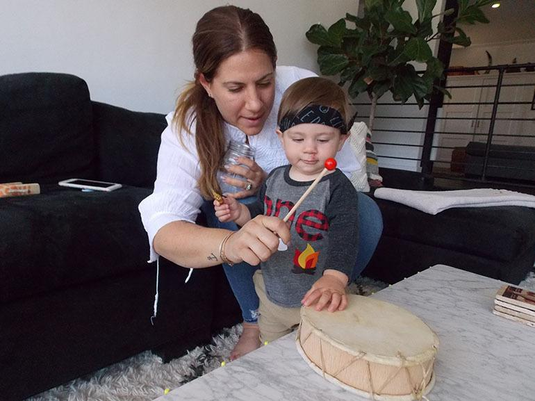 """""""As much as I don't want to be thinking about my future heart health, or worrying about what's going to happen when I am older,"""" Lara Hogan says, keeping her blood pressure down is """"priority No. 1 for my health right now — for the sake of my son and my"""
