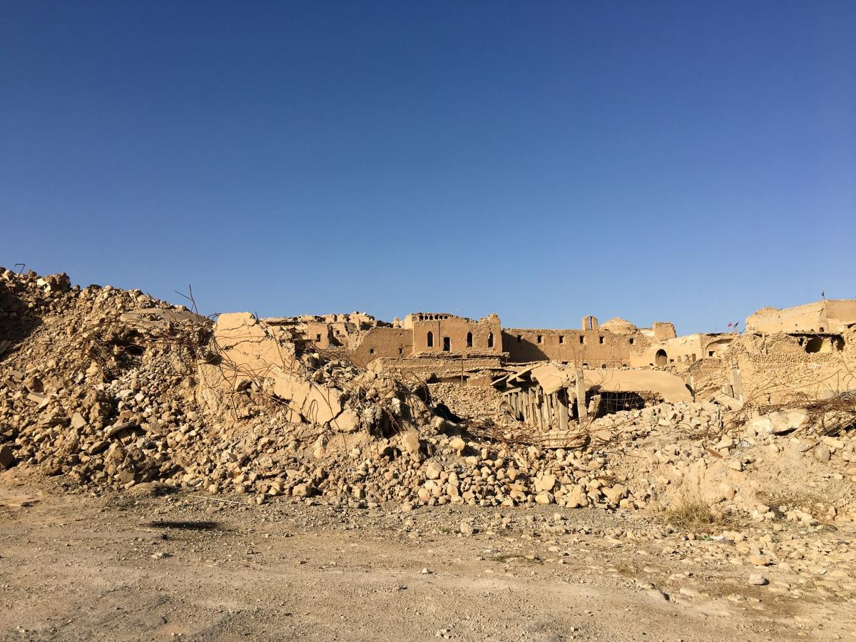Almost 70 percent of the town of Sinjar was damaged or destroyed in the U.S.-backed fight by Iraqi forces against ISIS. Two years after ISIS was driven out, no one has money to rebuild.