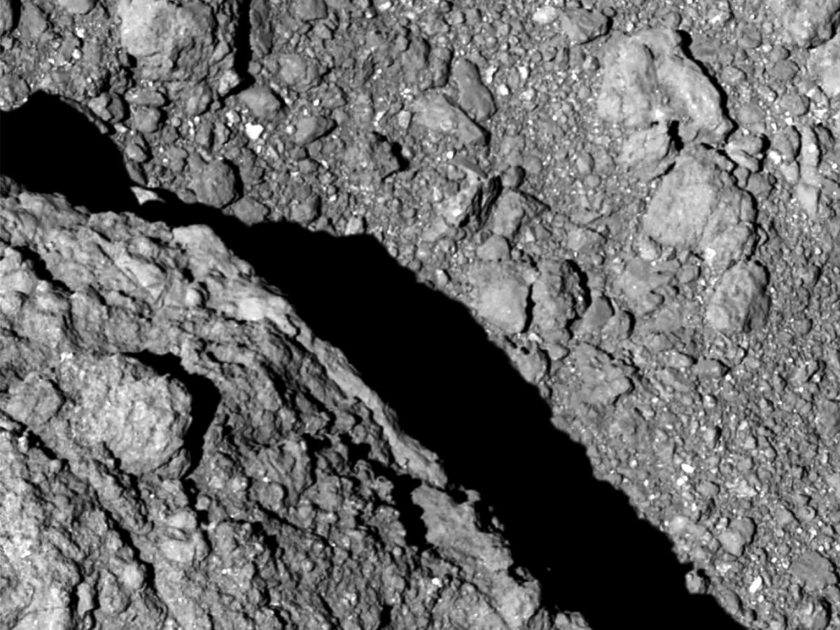 Japan's space agency releases first images of asteroid surface