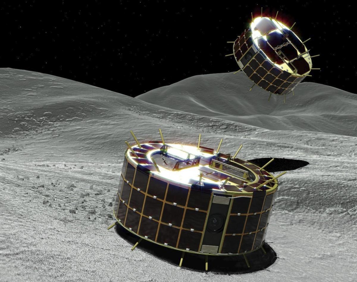 Hayabusa2 rovers start exploring asteroid Ryugu