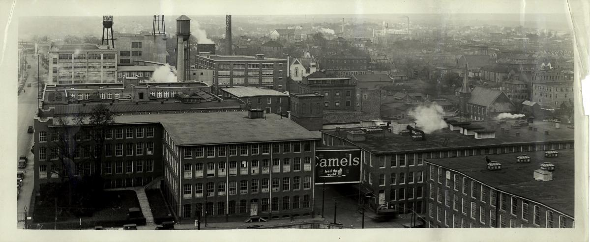 View from Patterson Street 1920s