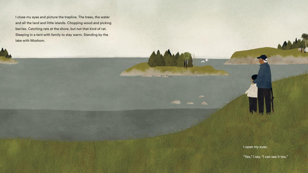 On The Trapline, written by David A. Robertson and illustrated by Julie Flett