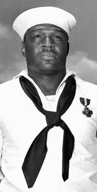 "Doris ""Dorie"" Miller, U.S. Navy mess attendant 2nd class, became one of the first American heroes of World War II for his actions during the Japanese attack on Pearl Harbor."