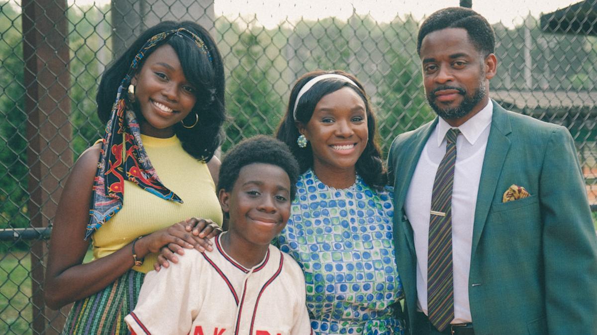 Laura Kariuki, Elisha Williams, Saycon Sengbloh and Dule Hill star as the Williams family.