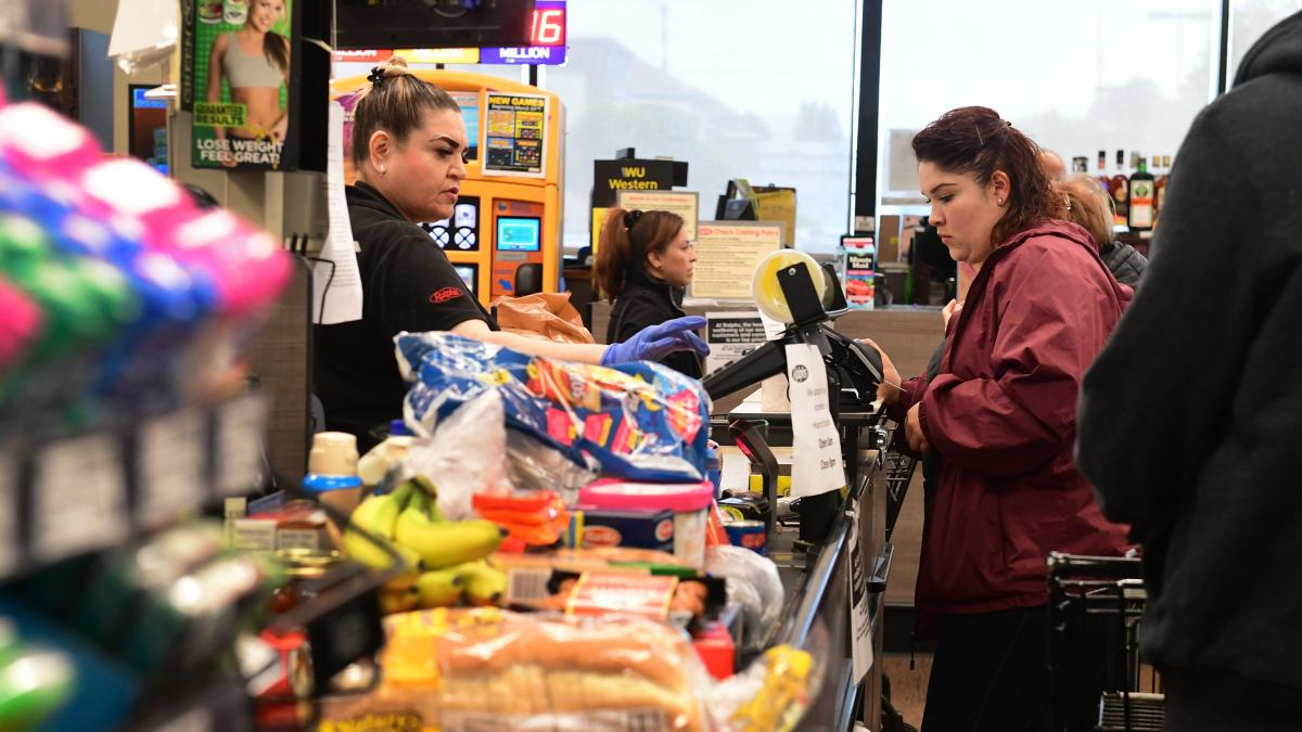 Thermometers and cleaning supplies are seeing spikes in demand, predictably — but now so are snacks and perishable food items.