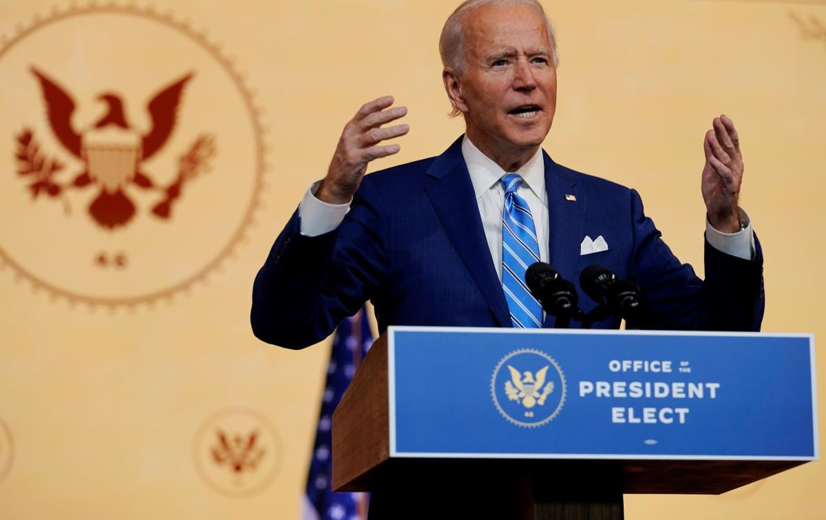 "In his Thanksgiving address Wednesday, President-elect Joe Biden acknowledged that the imperative ""to love our neighbors as ourselves,"" may strike many people right now as ""a radical act."" But Biden insisted, ""We must try."""
