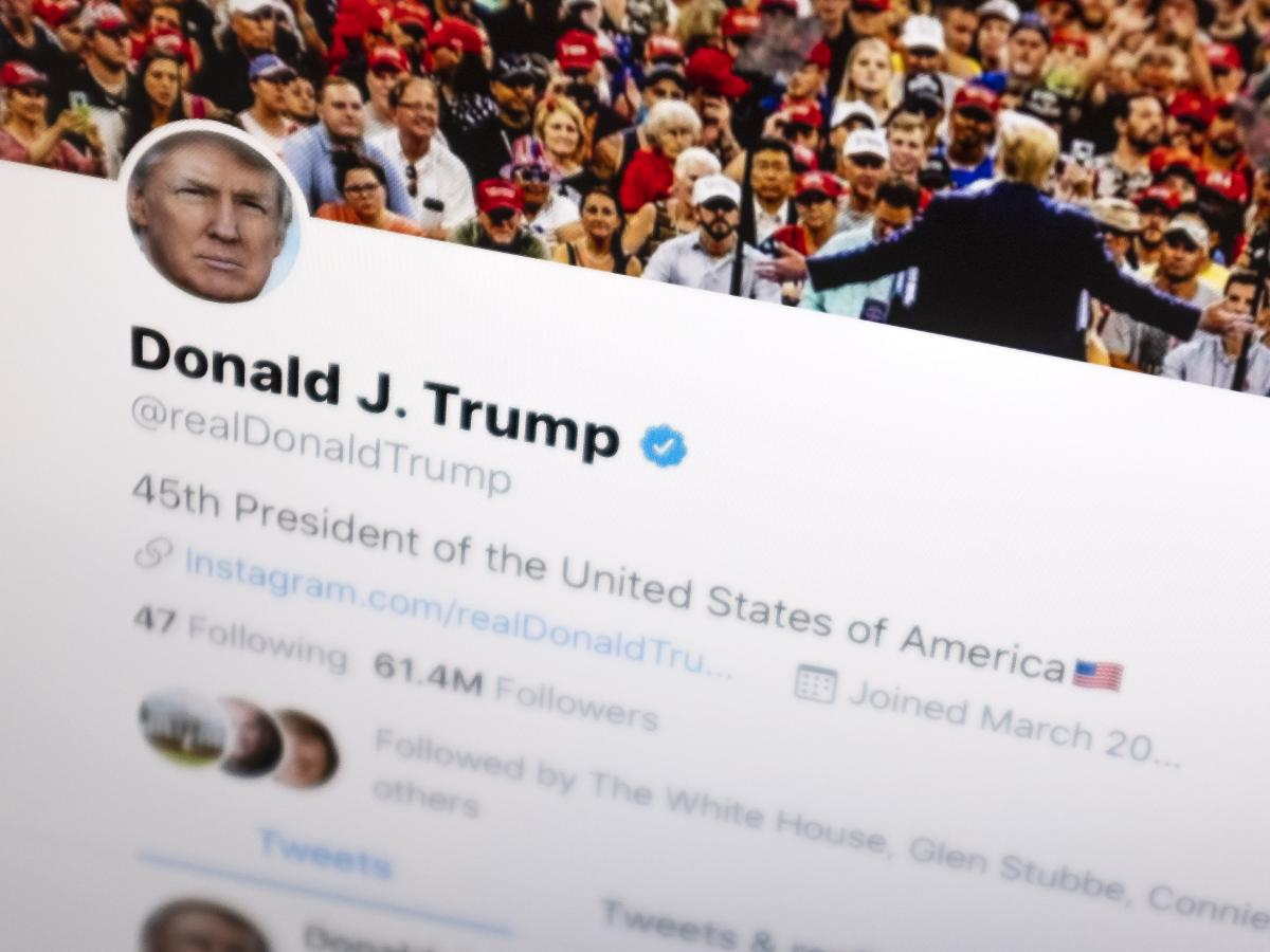President Trump's Twitter feed had more than 66 million followers as of October 2019.