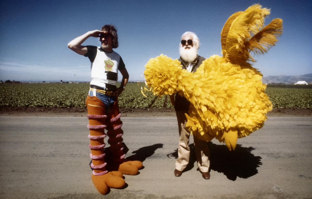 The documentary I Am Big Bird tells the story of Caroll Spinney (left), who has been the man inside the yellow suit for more than 40 years.