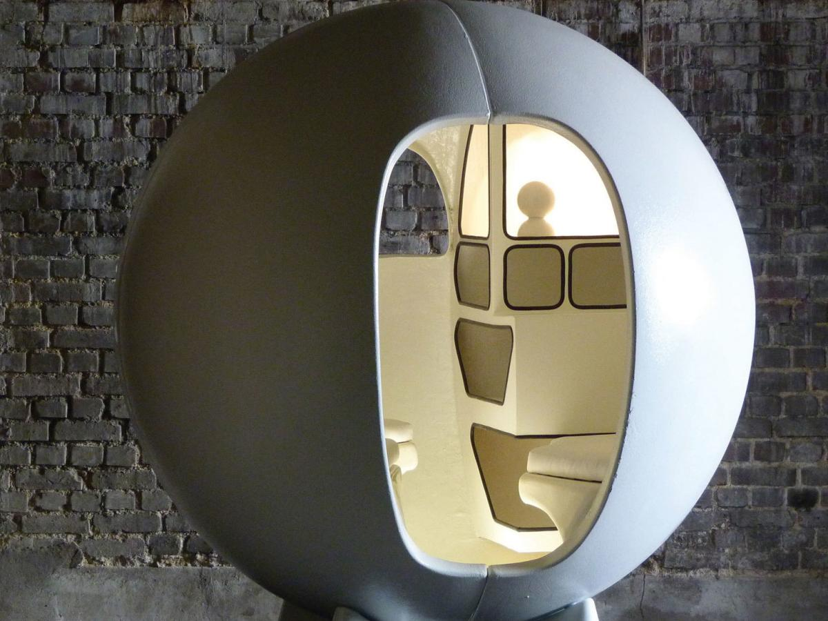 'Isolation Sphere' by Maurice Claude Vidili at Maison Gerard
