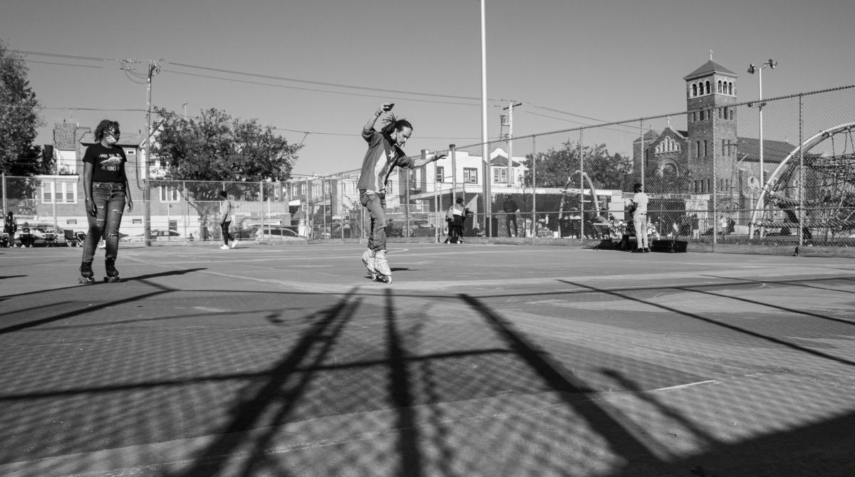 Election Day at Granahan Playground & Skate Park, Philadelphia, 2020