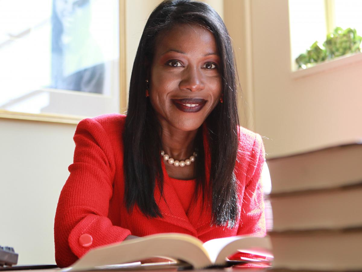 Author Isabel Wilkerson.