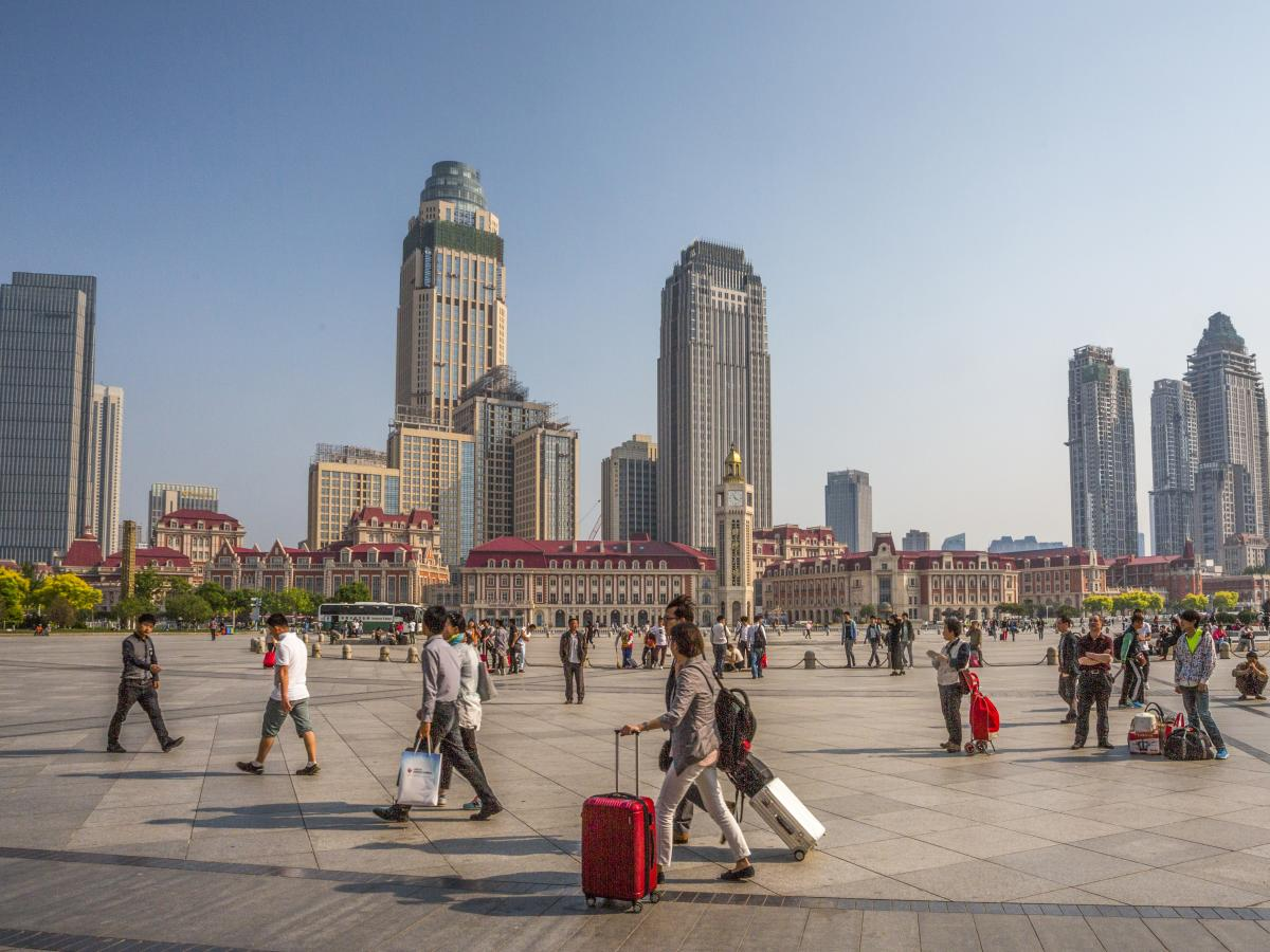 Tianjin, in northern China, is home to Tianjin University, an international research center that recently hired an American to lead its school of pharmaceutical science and technology. He recruits students from all over the world, he says, and the program