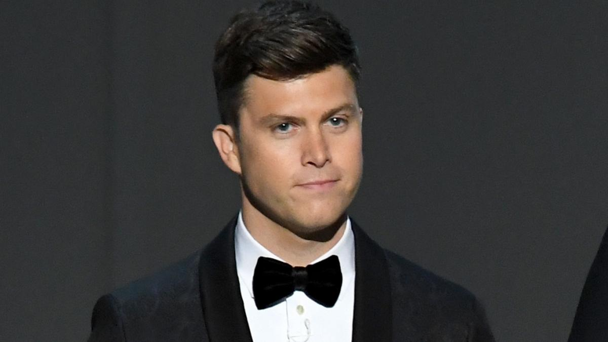 """Colin Jost, here in 2018, first joined Saturday Night Live as a writer 15 years ago. """"It's a world that I love so much,"""" he says of the show."""