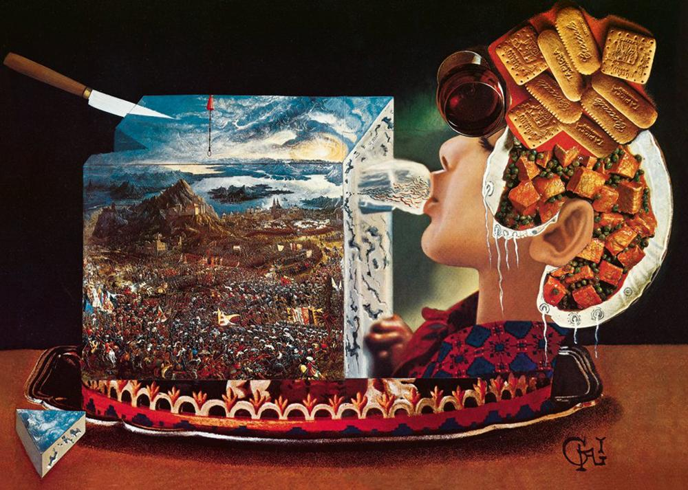 In 1973, Salvador Dali immortalized some of the surreal dinners he hosted in a cookbook called Les Diners de Gala, which he also illustrated.