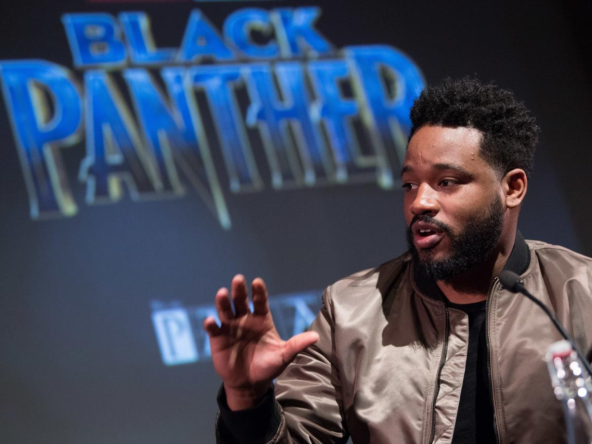 Director Ryan Coogler attends the Black Panther BFI preview screening on February 9, 2018 in London, England.