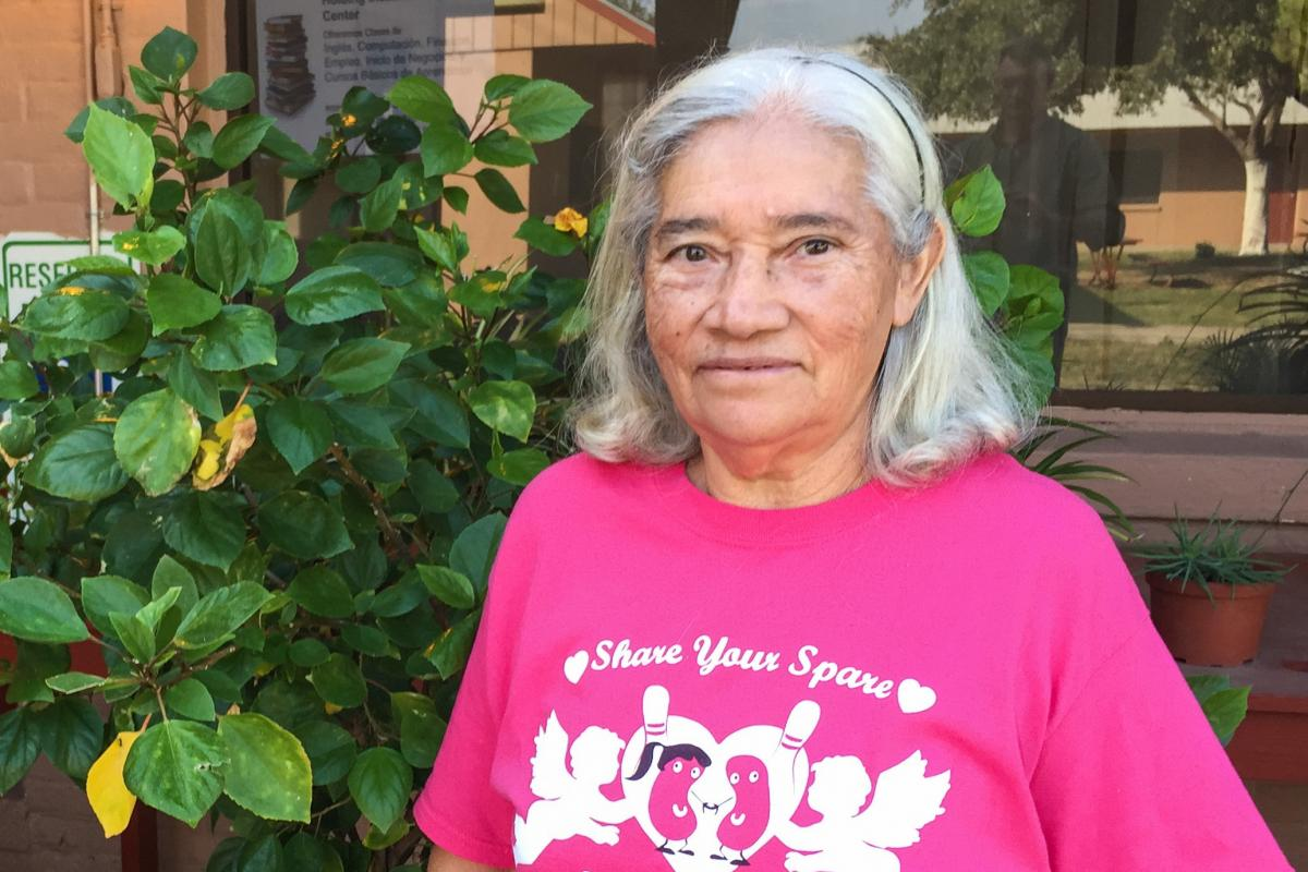 Inocencia Garcia, 67, needs a medical procedure for a chronic bladder infection. But she won't go to see a San Antonio doctor because that would mean crossing the federal checkpoint.