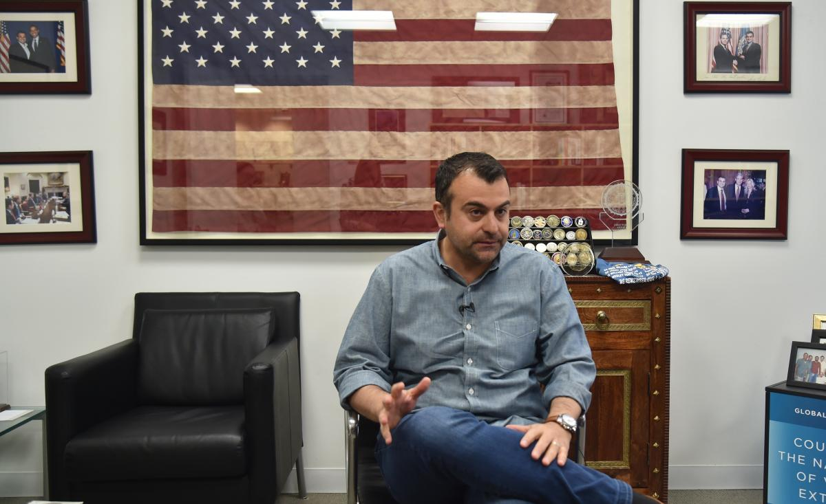 Former FBI Agent Ali Soufan, shown here in New York in 2018, interrogated many al-Qaida suspects after the Sept. 11, 2001 attacks. Soufan's 2011 book on that topic, The Black Banners, included many redactions. A new version was released this week without
