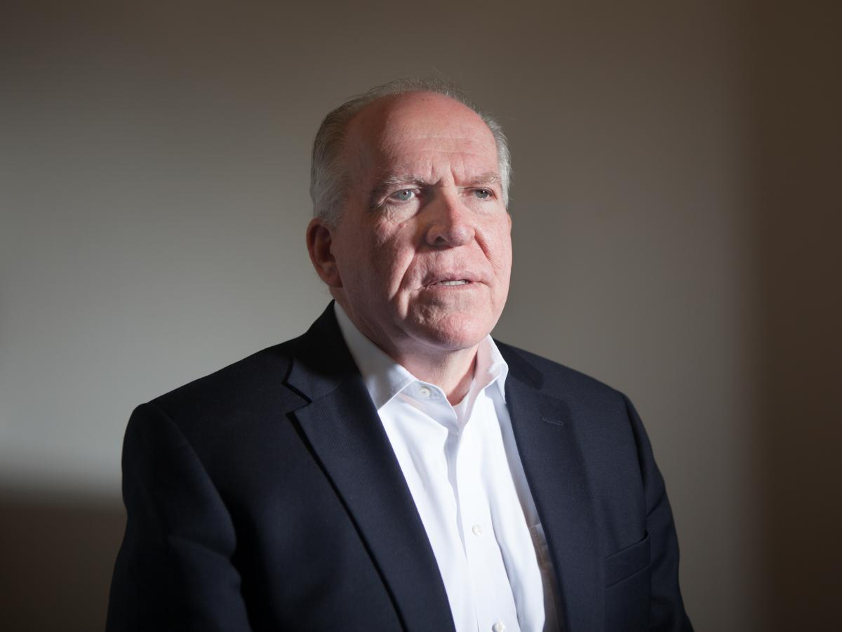Former CIA chief John Brennan has a new book out titled Undaunted.