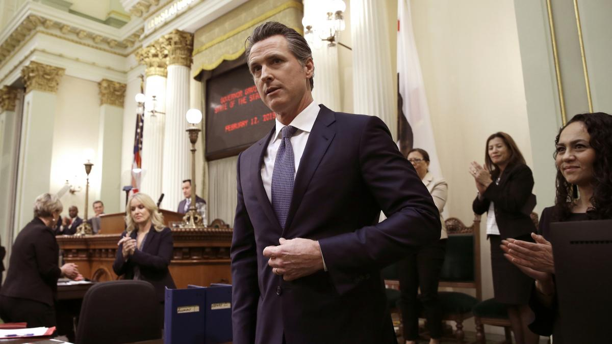 Calif., Gov. Gavin Newsom will sign an order on Wednesday imposing a moratorium on California's death penalty.