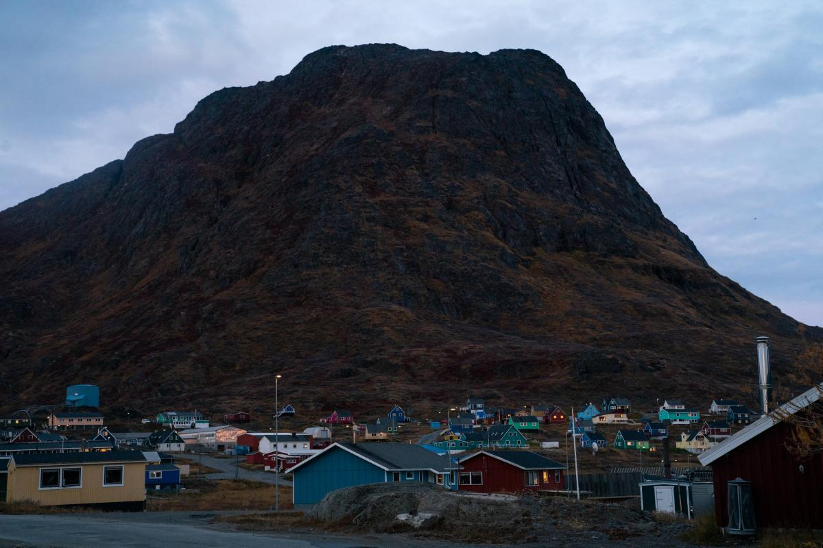 Narsaq, a town of 1,200 in southern Greenland, sits near the Kvanefjeld project, one of two major rare earth mineral deposits in Greenland. The Arctic island has a wealth of rare earth resources that the U.S. has labeled as essential to national defense.