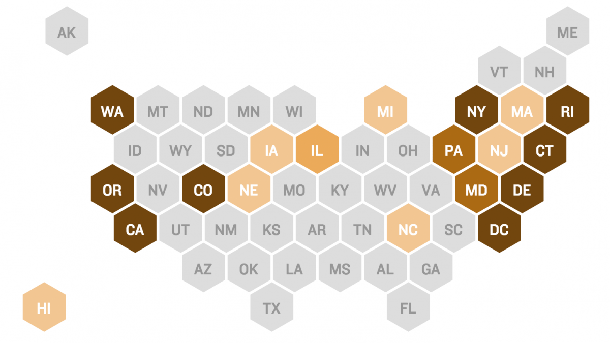 Here's Where Gun Laws Stand In Your State   88.5 WFDD on gun deaths per capita by state, gay rights by state map, gun laws in all states, union right work state map, immigration by state map, poverty united states map, united states concealed carry map, concealed carry by state map, anti safe act gun law map, gun reciprocity map, gun right laws, gun law in the united states, gun homicide rates united states, stand your ground law state map, gun shootings by state, politics by state map, gun deaths by state 2014, maps of united states map, gun rights in us, nfl fans by state map,