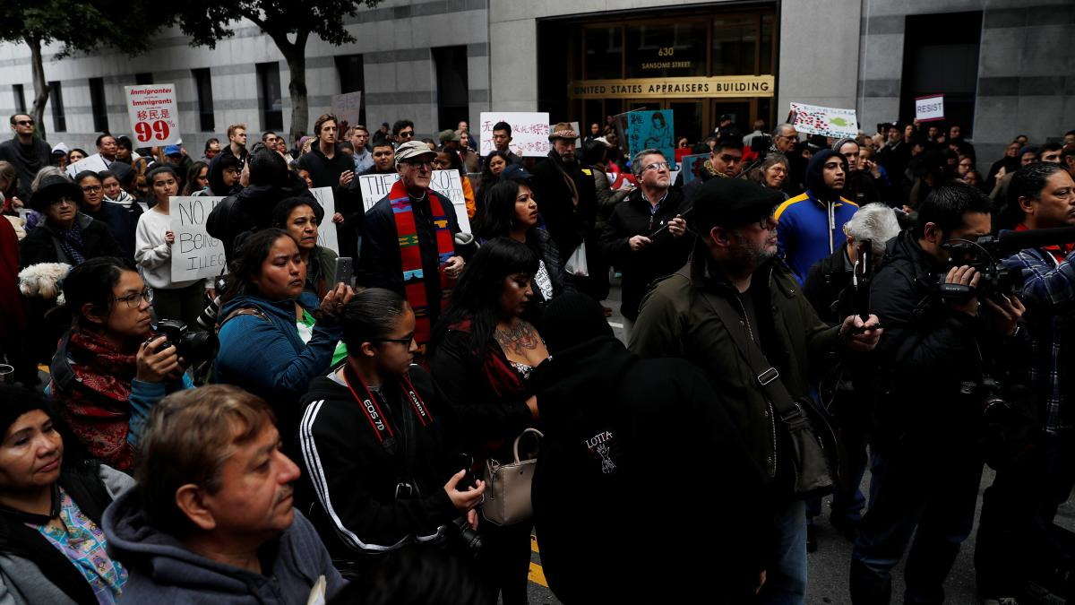 A spokesman for Immigration and Customs Enforcement in San Francisco has resigned, citing disagreements over how to cast the actions of Oakland Mayor Libby Schaaf, who warned against immigration raids last month. The raids prompted a rally outside the ICE