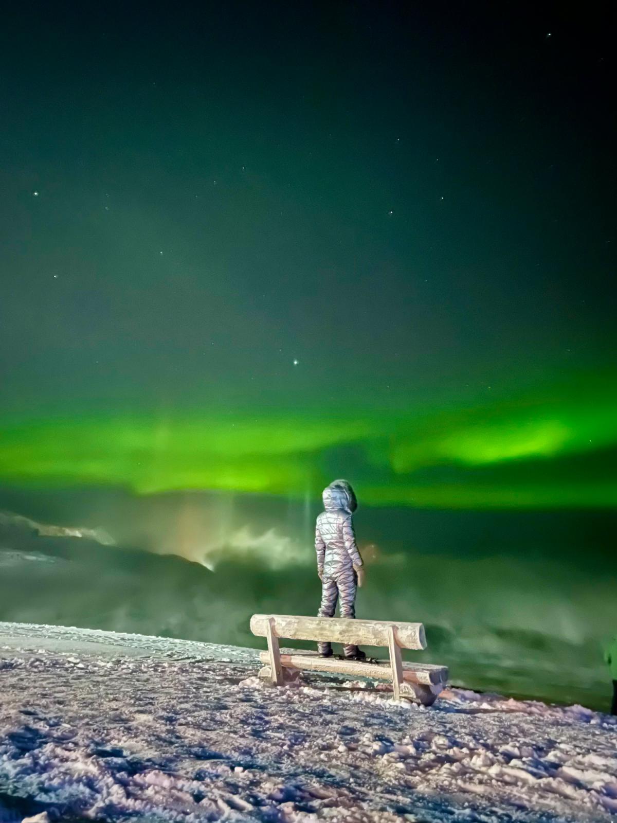"""Magic of Aurora Borealis."" Russia"