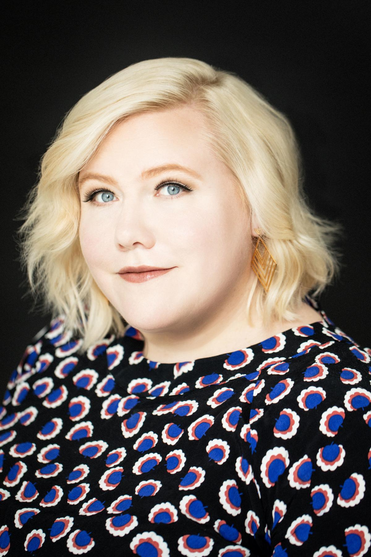 """Shrill executive producer Lindy West enjoyed making a fictionalized version of her life: """"You can work out all your grudges and your resentments against everyone you've ever met, except with this plausible deniability because it's fictional,"""" she says."""