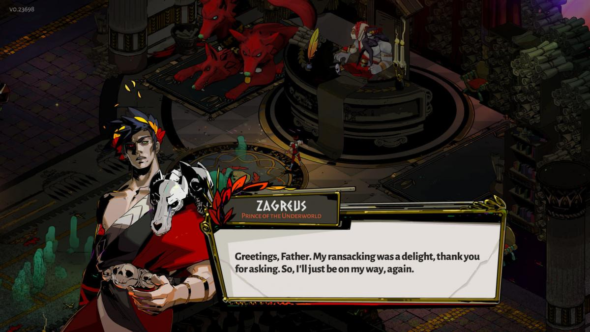 In Hades, you play as the son of the titular deity, battling to escape the underworld.