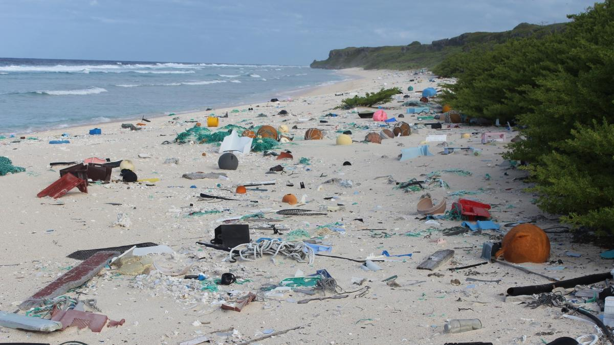 Henderson Island, in the South Pacific, is thousands of miles from any major industrial centers or human communities. But it's filled with trash — more than 37 million pieces of it, researchers say.