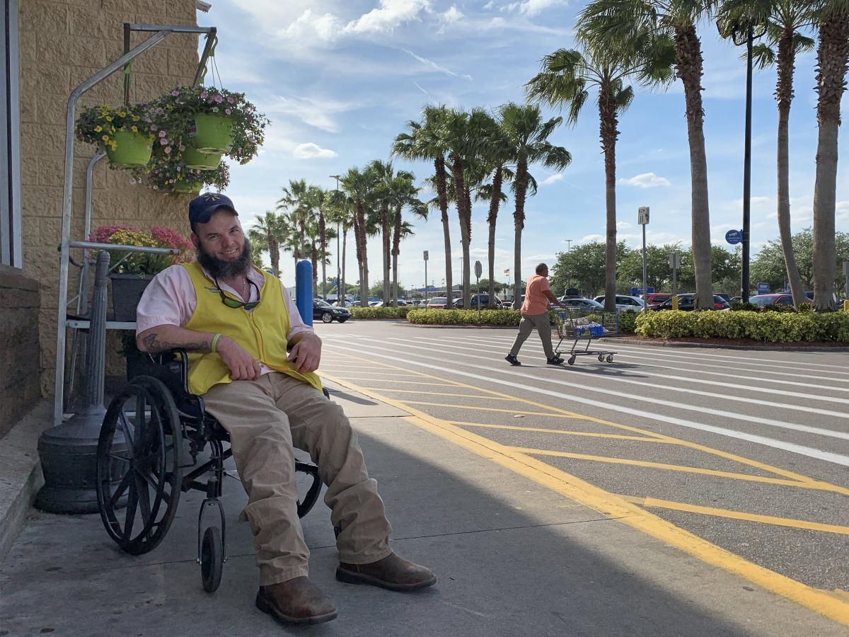 In February, Justin Kelley was among the workers at about 1,000 Walmarts who learned that their jobs as people greeters would be eliminated. Like Kelley, many of them were workers with disabilities who found themselves in limbo.