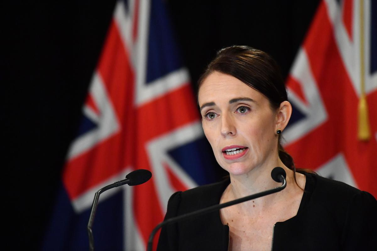 New Zealand Prime Minister Jacinda Ardern addresses the media on March 16 in Wellington, New Zealand. Ardern said she would seek a change in her country's gun laws after after at least one man opened fire during afternoon prayers Friday and killed at leas