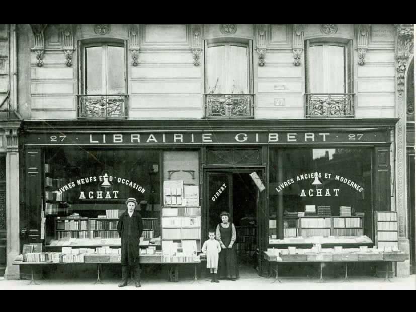 The first Gibert bookstore in 1908.