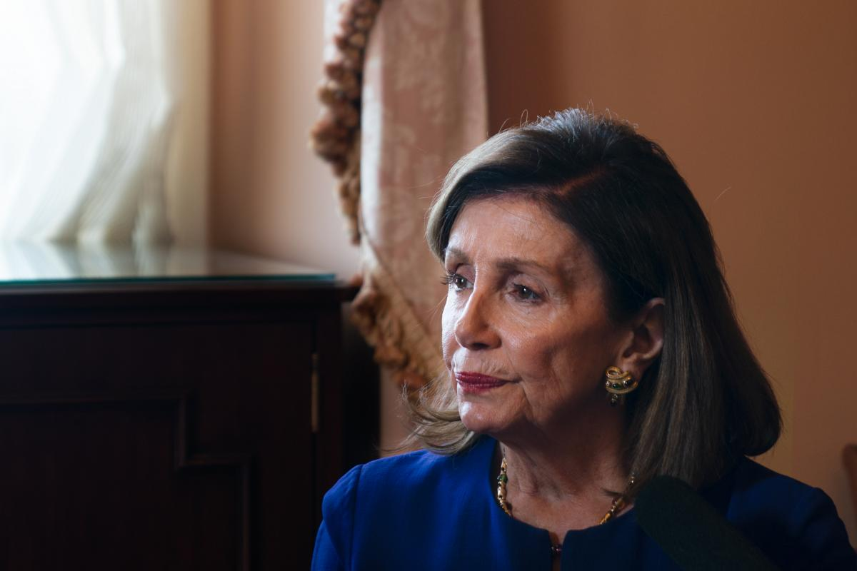 House Speaker Nancy Pelosi pushed back against GOP criticism that her plan calling for the federal government to negotiate drug prices interfered with the free market.