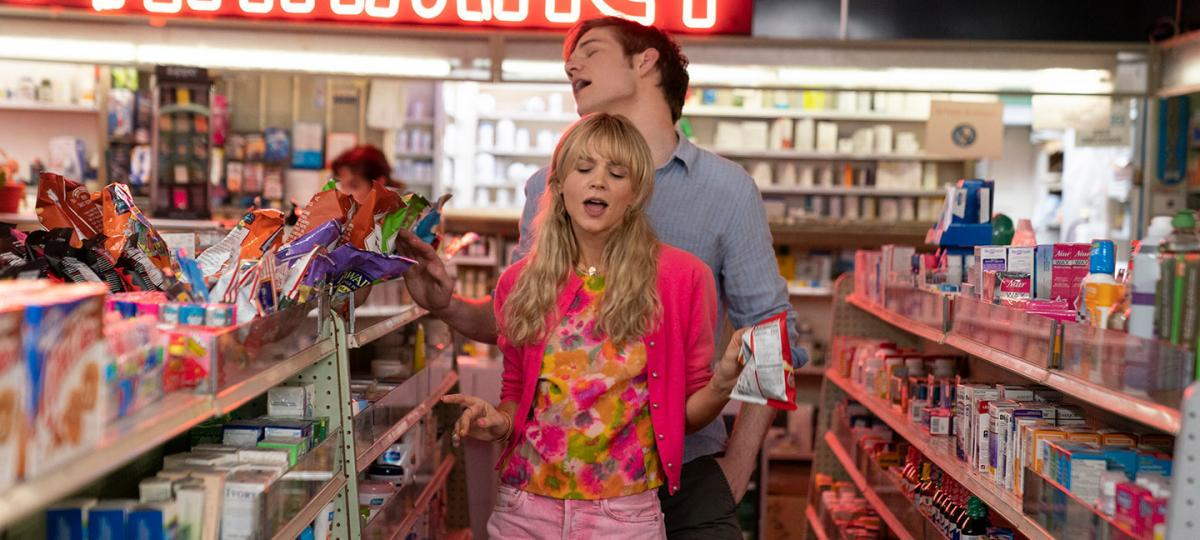 Cassie (Carey Mulligan) is a woman bent on revenge — until she meets nice guy Ryan (Bo Burnham) in Promising Young Woman.