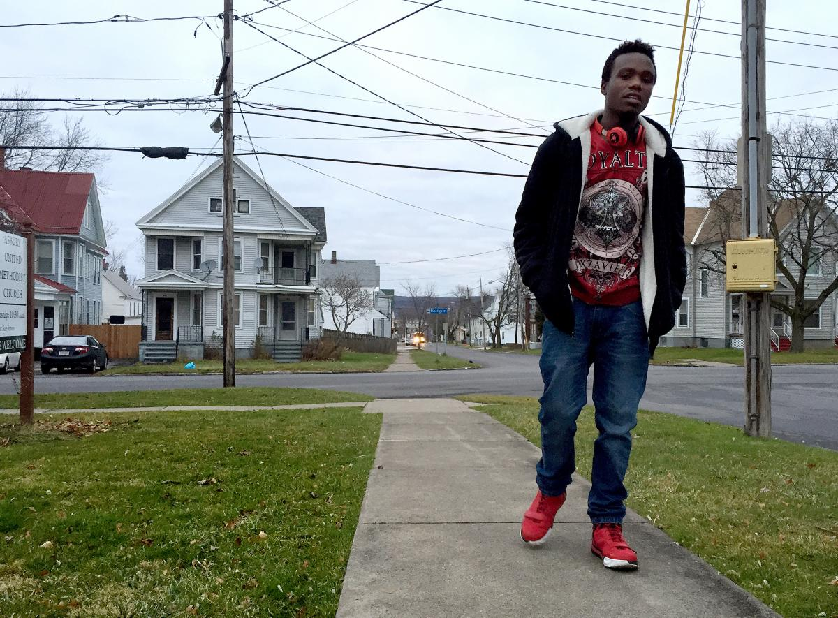 Patrick Tuyizere, 19, sued the Utica City School District in New York after he says the district would not let him attend the local high school.